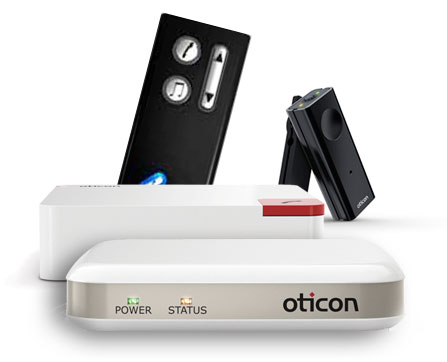 Oticon Connectline for hearing aids