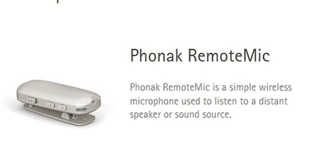 Phonak Remote Microphone (includes ComPilot II BUNDLE DISCOUNT)