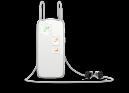 oticon streamer pro white