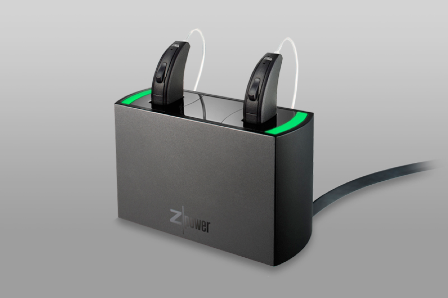 zpower charging unit for hearing aids