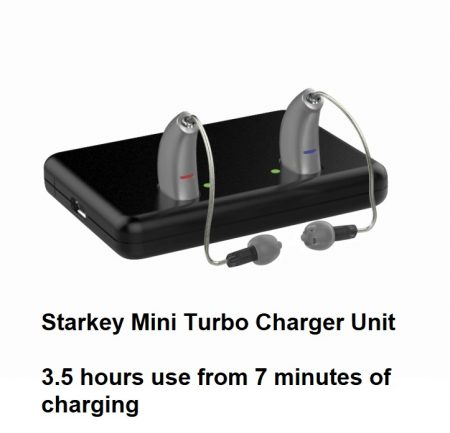 Starkey Mini Turbo Charger