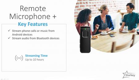 Starkey Remote Microphone Plus