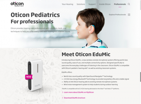 Oticon eduMIC